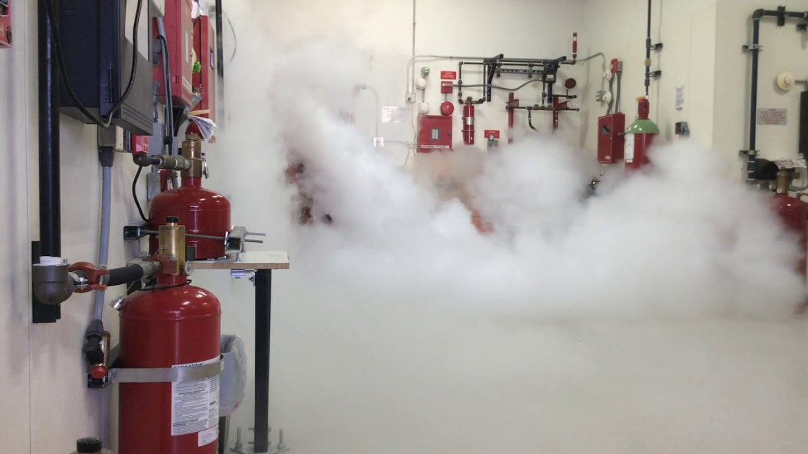 Different kinds of fire suppression system and its function